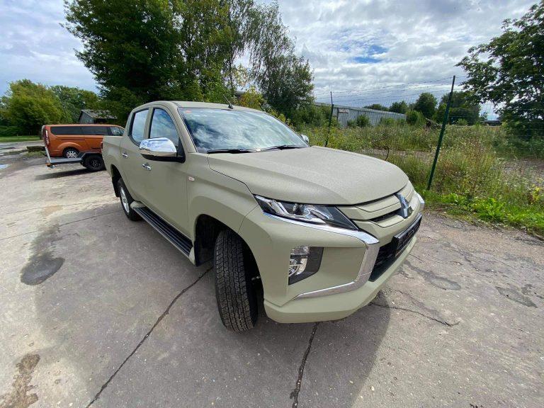 Skandi motors Mitsubishi L200 poliuretāna aizsargpārklājums
