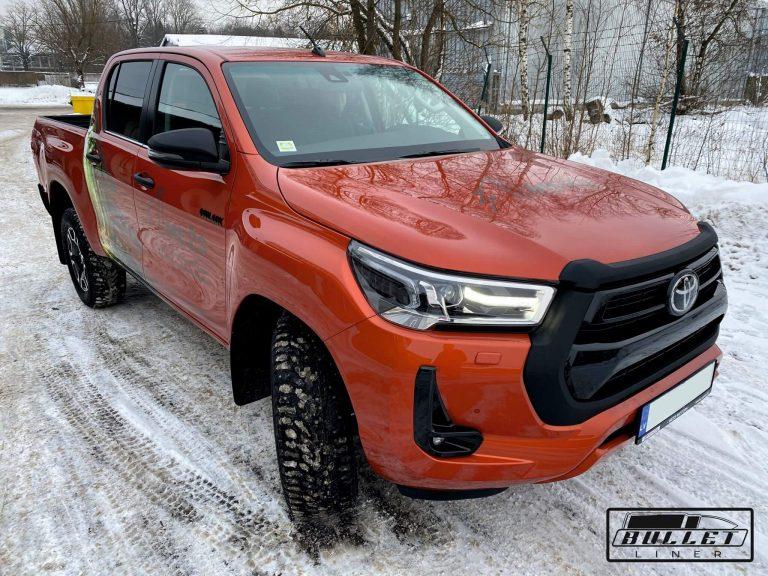 Toyota Hilux Black Edition 2021 krāsošana