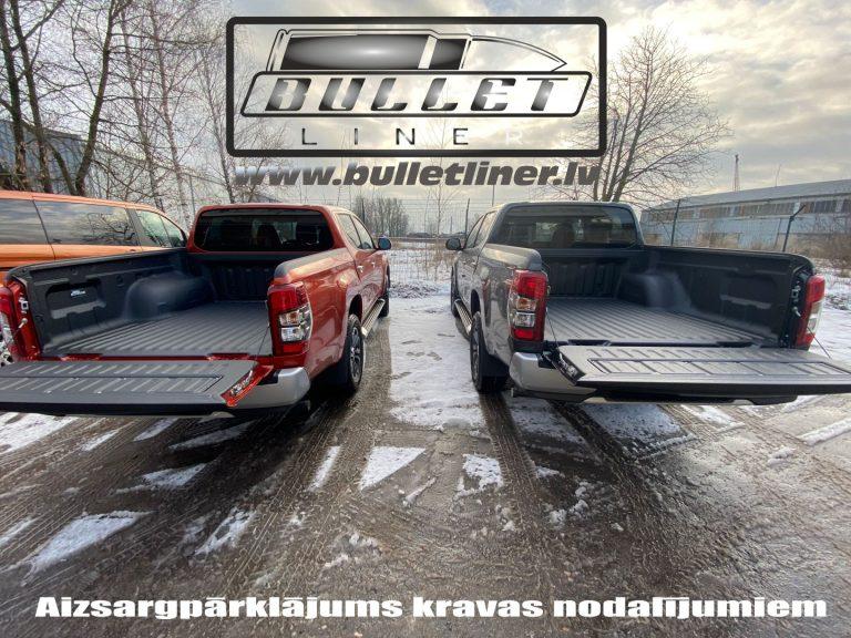 Jaunas automašīnas kravas kastes aizsargpārklājums