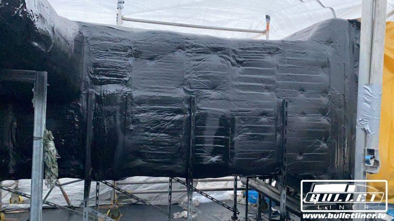 Industriāls poliuretāna pārklājums, ventilācijas sistēmas