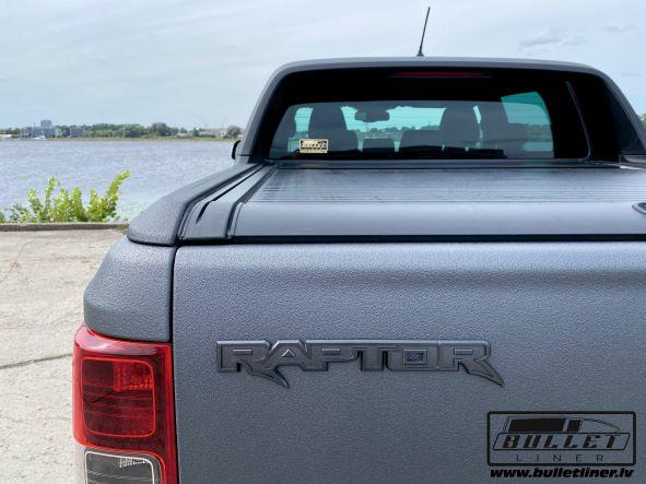 Auto virsbūves apstrāde ar poliuretāna aizsargpārklājumu Bullet Liner
